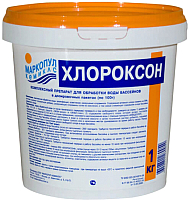 Средство для комплексной обработки воды Маркопул Кемиклс Хлороксон в ведре (1кг) -