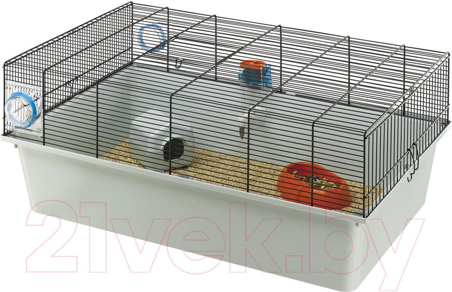 Купить Клетка для грызунов Ferplast, Kios / 57011317W1 (серый), Италия