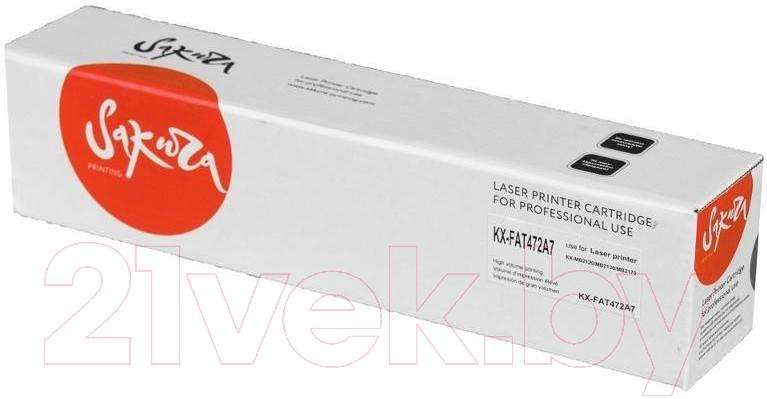 Купить Тонер-картридж SAKURA, KXFAT472A7, Китай, черный