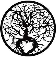 Декор настенный Arthata Дерево жизни 35x35-B / 029-1 -