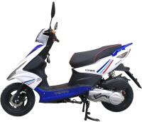 Скутер Vento Corsa (сине-белый) -