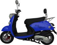 Скутер Vento Retro (синий матовый) -