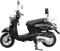 Скутер Vento Retro (черный) -