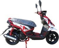 Скутер Vento Smart (бело-красный) -