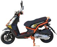 Скутер Vento Smart (черно-оранжевый) -