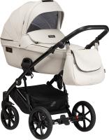 Детская универсальная коляска Tutis Viva Life 2 в 1 / 1002085 (кожа Сloud) -