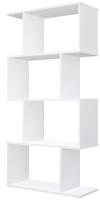 Стеллаж Polini Kids Home Smart Фигурный 4 секции / 0002273.9 (белый) -