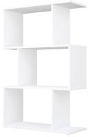 Стеллаж Polini Kids Home Smart Фигурный 3 секции / 0002271.9 (белый) -