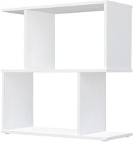 Стеллаж Polini Kids Home Smart Фигурный 2 секции / 0002270.9 (белый) -