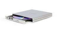 Привод DVD Multi Gembird DVD-USB-02-SV (серебристый) -