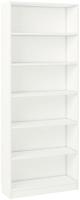Стеллаж Polini Kids Home Smart Вертикальный 6 секций / 0002288.9 (белый) -