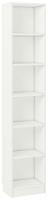 Стеллаж Polini Kids Home Smart Вертикальный 6 секций / 0002287.9 (белый) -
