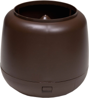 Колпак для вентиляционного выхода Vilpe 110мм RR32 / 731154 (коричневый) -