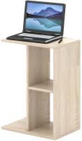Приставной столик MFMaster Арто-27 / МСТ-СЖА-27-ДС-02 (дуб сонома) -