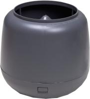 Колпак для вентиляционного выхода Vilpe 110мм RR23 / 731157 (серый) -