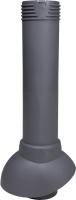 Выход вентиляционный на крышу Vilpe 110/500 RR23 / 741127 (серый) -