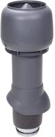 Выход вентиляционный на крышу Vilpe 125/ИЗ/500 RR23 / 734407 (серый) -