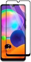 Защитное стекло для телефона Case Full Glue для Galaxy M31 (черный глянец) -