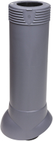 Выход вентиляционный на крышу Vilpe 110/ИЗ/500 RR23 / 741667 (серый) -