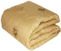 Одеяло Бивик Верблюжья шерсть прочесанная, ПЭ 140x205 (микрофибра с кантом) -