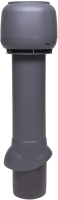 Выход вентиляционный на крышу Vilpe 125/ИЗ/700 RR23 / 734437 (серый) -