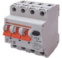Дифференциальный автомат КС АВДТ-63 3р+N C 25А/30мА А 6кА / 72905 -