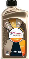 Моторное масло Total Hi-Perf 4T 700 10W40 / 215734 (1л) -