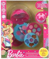 Набор детской декоративной косметики Милая Леди Барби: тени для век, румяна, блеск для губ / 10390A -
