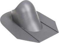 Проходка кровельная Vilpe Huopa/Slate 110-160мм RR23 / 731947 (серый) -