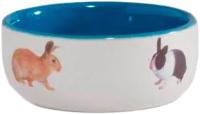 Миска для грызунов Beeztees 801650 (голубой) -