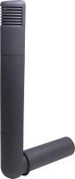 Цокольный дефлектор Vilpe Ross 125/135 RR23 / 790317 (серый) -