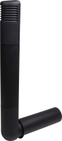 Цокольный дефлектор Vilpe Ross 125/135 RR33 / 790312 (черный) -