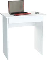 Письменный стол MFMaster Уно-2 / МСТ-УСД-02-БТ-02 (белый) -