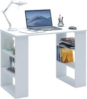 Письменный стол MFMaster Уно-7 / МСТ-УСК-07-БТ-02 (белый) -