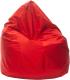 Бескаркасное кресло BomBom Грета XL (90x120, красный) -