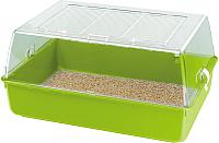 Клетка для грызунов Ferplast Mini Duna Multy / 57074499W2 (салатовый) -