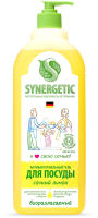 Средство для мытья посуды Synergetic Биоразлагаемое. Лимон (1л) -