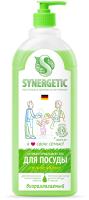 Средство для мытья посуды Synergetic Биоразлагаемое. Яблоко (1л) -
