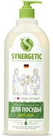 Средство для мытья посуды Synergetic Биоразлагаемое. Алоэ (1л) -