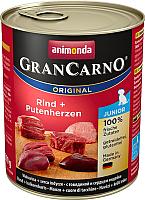 Корм для собак Animonda GranCarno Original Junior с говядиной и сердцем индейки (800г) -