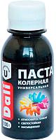 Колеровочная паста DALI Черный (100г) -