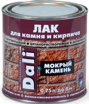 Купить Лак DALI, Мокрый камень (750мл), Россия, бесцветный