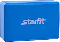 Блок для йоги Starfit FA-101 EVA (синий) -