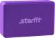 Блок для йоги Starfit FA-101 EVA (фиолетовый) -