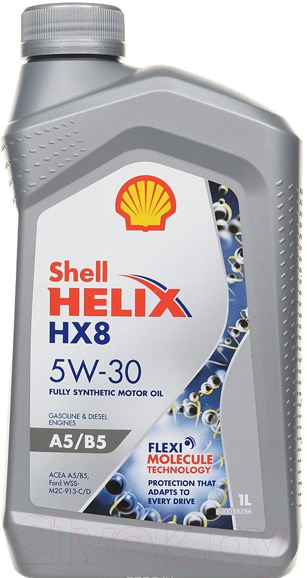 Купить Моторное масло Shell, Helix HX8 A5/B5 5W30 / 550046778 (1л), Россия