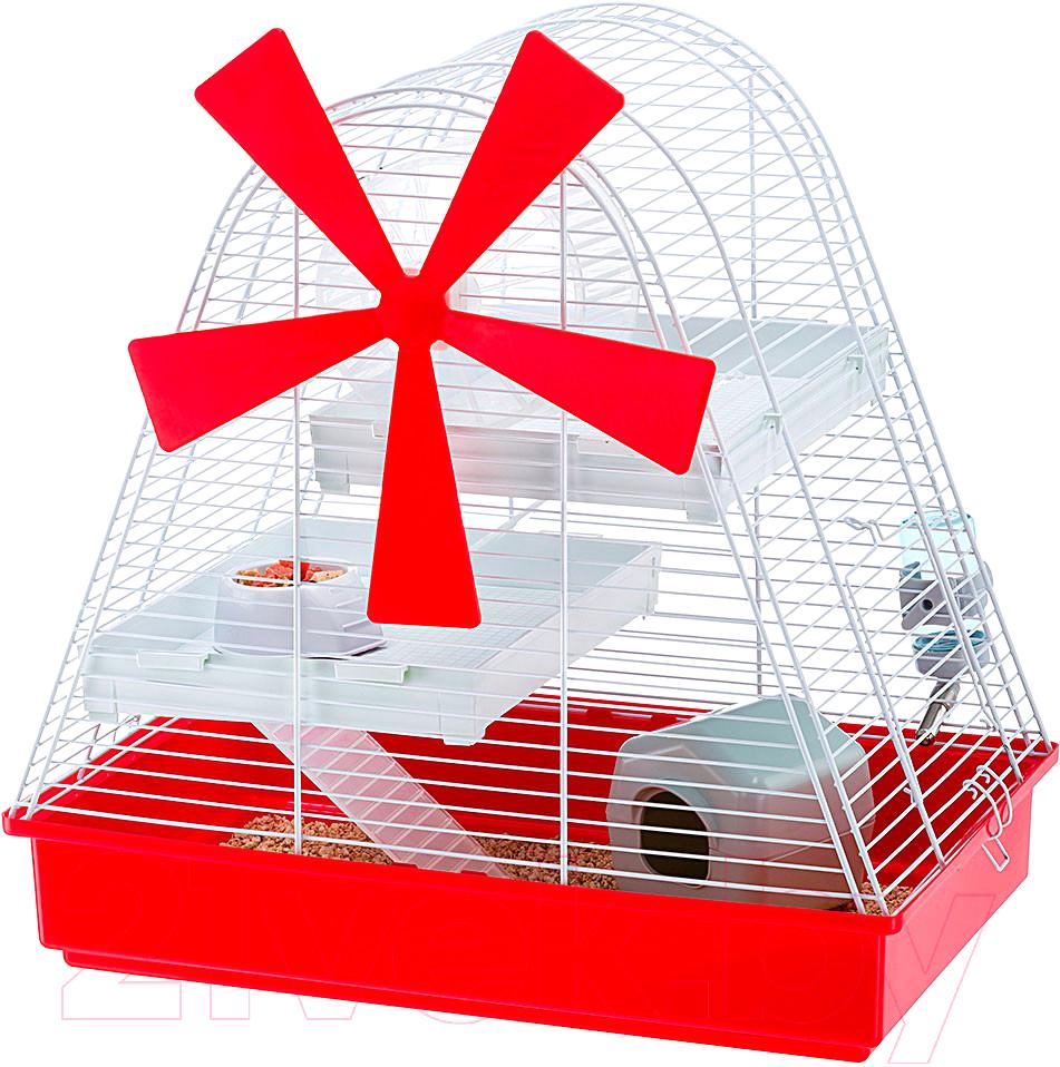 Купить Клетка для грызунов Ferplast, Magic Mill / 57001311, Италия, белый