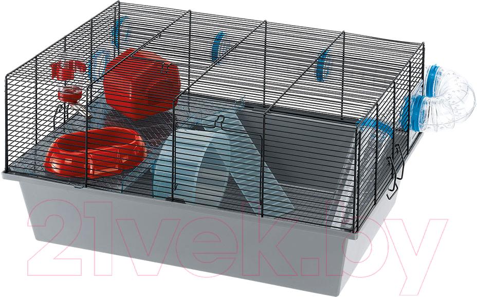 Купить Клетка для грызунов Ferplast, Milos Large / 57010617, Италия, серый