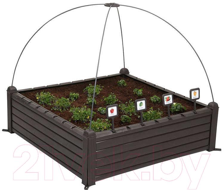 Купить Вазон-грядка Keter, Garden Bed / 17192097900 (черный), Израиль, пластик