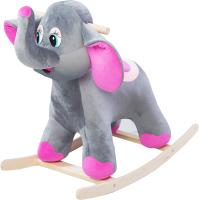 Качалка детская Трикотекс Слон / 130/сер (серый) -