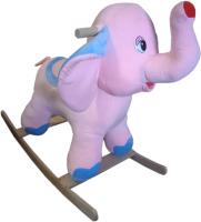 Качалка детская Трикотекс Слон / 134/роз (розовый) -